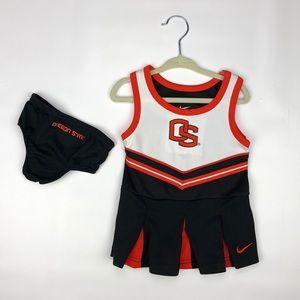 Nike Oregon State Cheerleader Uniform 6-12 Months